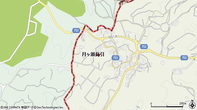 〒630-2303 奈良県奈良市月ヶ瀬長引の地図