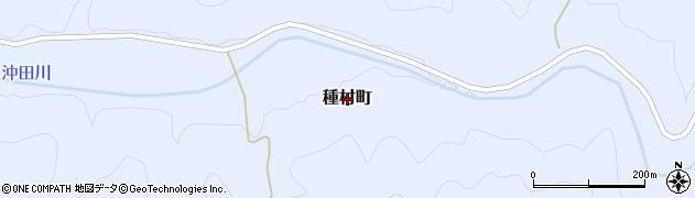 島根県益田市種村町周辺の地図