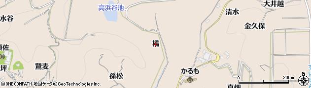 愛知県南知多町(知多郡)豊浜(橘)周辺の地図