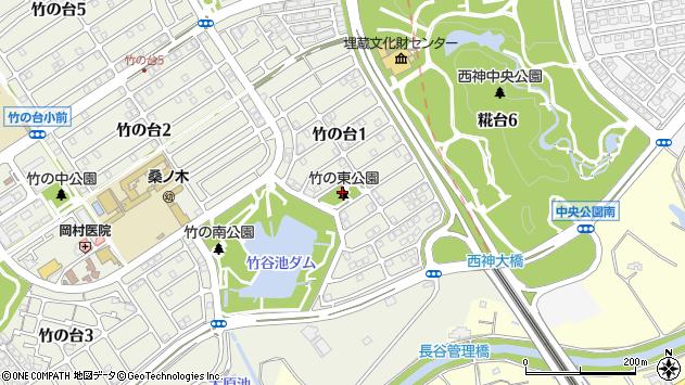 〒651-2274 兵庫県神戸市西区竹の台の地図