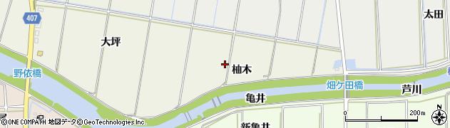 愛知県豊橋市西高師町(柚木)周辺の地図