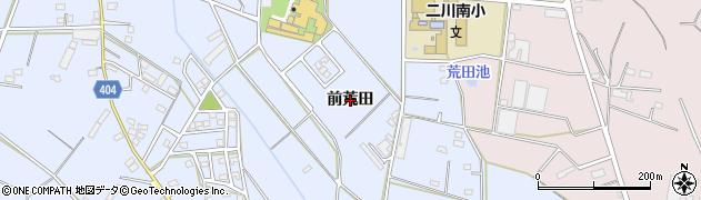 愛知県豊橋市大岩町(前荒田)周辺の地図