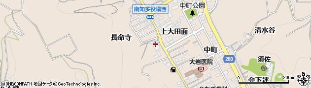 愛知県南知多町(知多郡)豊浜(長命地)周辺の地図