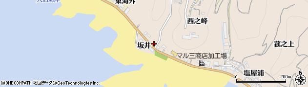 愛知県南知多町(知多郡)豊浜(坂井)周辺の地図