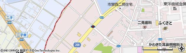 小池南周辺の地図