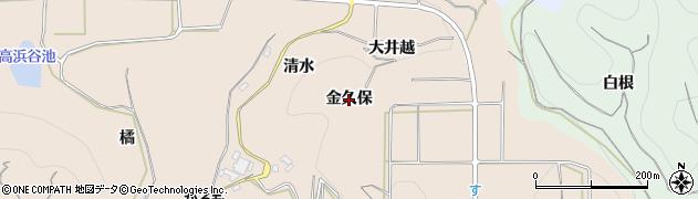 愛知県南知多町(知多郡)豊浜(金久保)周辺の地図