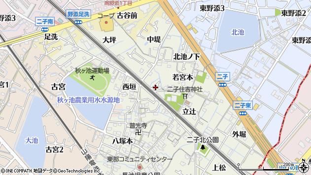 〒675-0162 兵庫県加古郡播磨町二子の地図