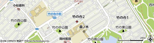 兵庫県神戸市西区竹の台周辺の地図