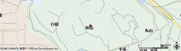 愛知県南知多町(知多郡)片名(仲山)周辺の地図