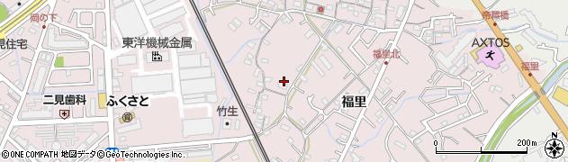 兵庫県明石市二見町福里前山周辺の地図