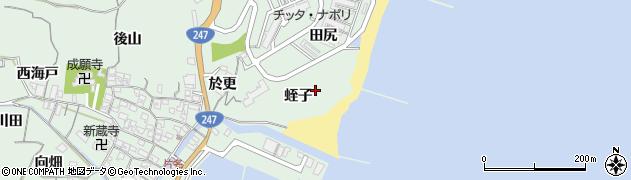 愛知県南知多町(知多郡)片名(蛭子)周辺の地図