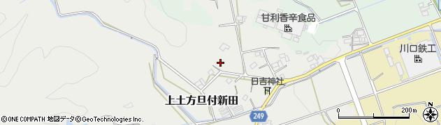 静岡県掛川市上土方旦付新田周辺の地図