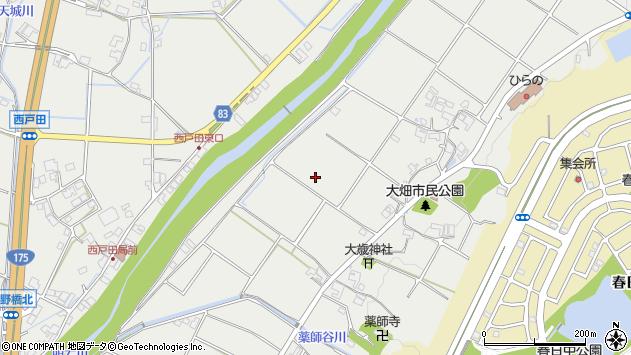 〒651-2264 兵庫県神戸市西区平野町大畑の地図