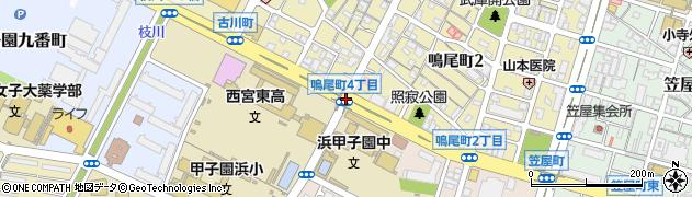 鳴尾町4周辺の地図