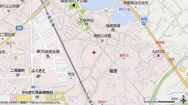〒674-0091 兵庫県明石市二見町福里の地図
