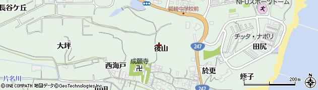 愛知県南知多町(知多郡)片名周辺の地図