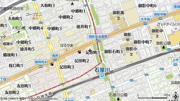 〒657-0034 兵庫県神戸市灘区記田町の地図