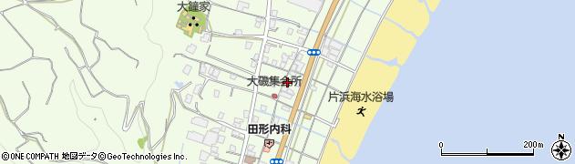 静岡県牧之原市片浜周辺の地図