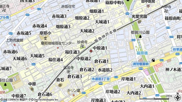 〒657-0825 兵庫県神戸市灘区中原通の地図