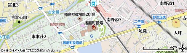 兵庫県播磨町(加古郡)周辺の地図