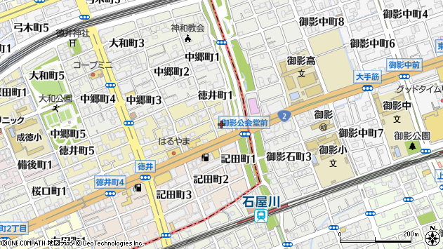 〒657-0033 兵庫県神戸市灘区徳井町の地図