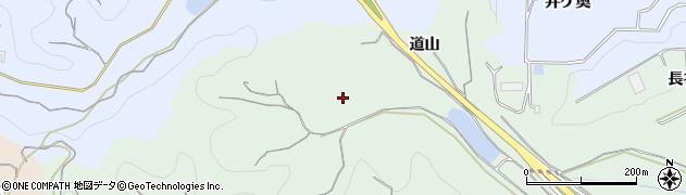 愛知県南知多町(知多郡)片名(道山)周辺の地図