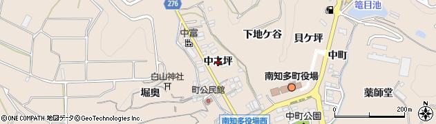 愛知県南知多町(知多郡)豊浜(中之坪)周辺の地図