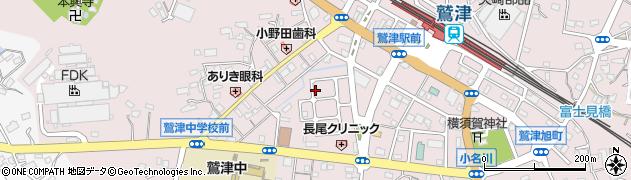 静岡県湖西市鷲津周辺の地図