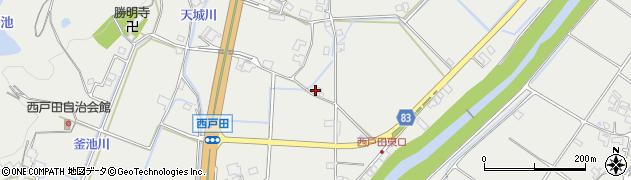 兵庫県神戸市西区平野町(西戸田)周辺の地図