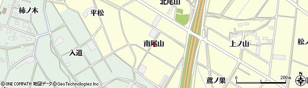 愛知県豊橋市船渡町(南尾山)周辺の地図