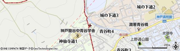 教福寺周辺の地図