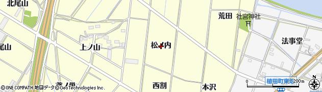 愛知県豊橋市船渡町(松ノ内)周辺の地図