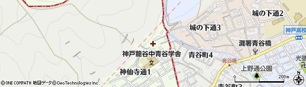馬頭観音妙光院周辺の地図