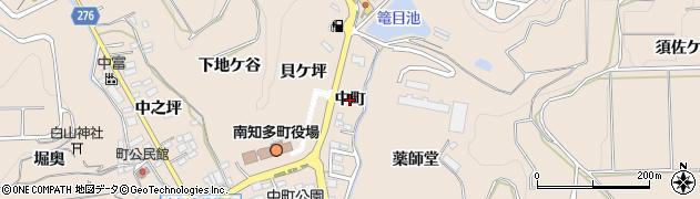 愛知県南知多町(知多郡)豊浜(中町)周辺の地図