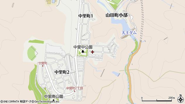 〒651-1103 兵庫県神戸市北区中里町の地図