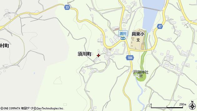 〒630-1111 奈良県奈良市須川町の地図