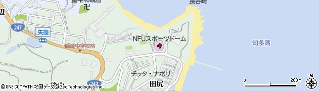 愛知県南知多町(知多郡)片名(浜山)周辺の地図