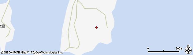 愛知県西尾市一色町佐久島(新谷)周辺の地図