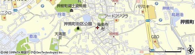 極楽寺周辺の地図