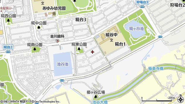 〒651-2273 兵庫県神戸市西区糀台の地図