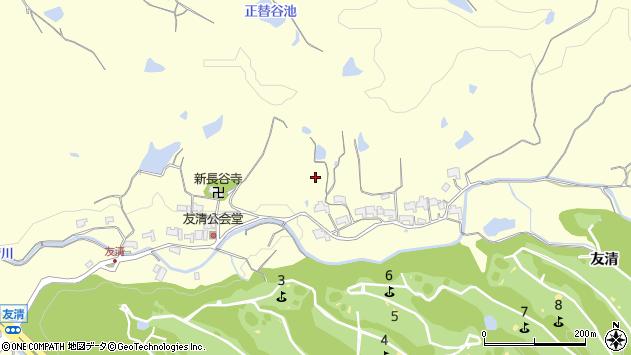 〒651-2232 兵庫県神戸市西区櫨谷町友清の地図