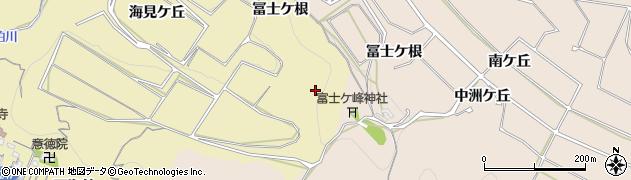 愛知県南知多町(知多郡)山海(上ノ山)周辺の地図