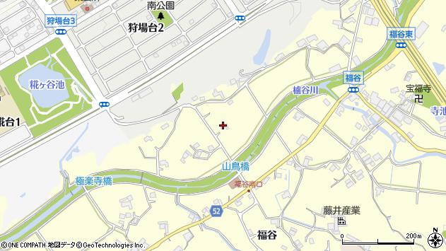 〒651-2233 兵庫県神戸市西区櫨谷町福谷の地図
