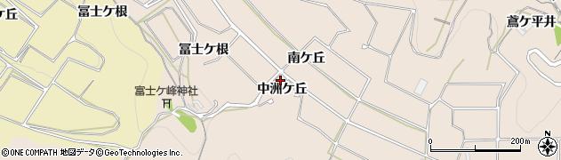 愛知県南知多町(知多郡)豊浜(中洲ケ丘)周辺の地図