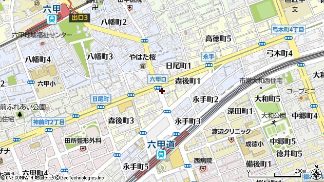 〒657-0028 兵庫県神戸市灘区森後町の地図