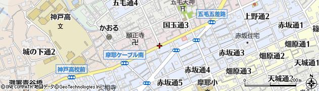 桜トンネル南周辺の地図