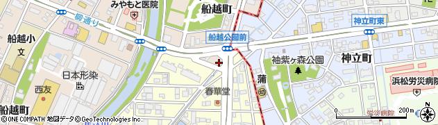 あがた商店周辺の地図