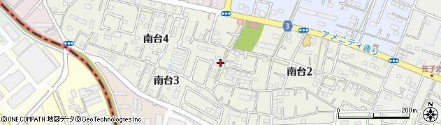 静岡県湖西市南台周辺の地図