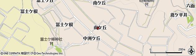 愛知県南知多町(知多郡)豊浜(南ケ丘)周辺の地図