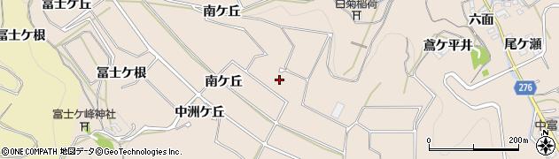 愛知県南知多町(知多郡)豊浜(西丸山)周辺の地図